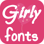 Girly Fonts for FlipFont - works on Samsung Galaxy Apk Download