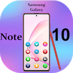 Tải về Apk Themes for Samsung Galaxy Note 10: Note10 launcher