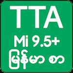TTA Mi Myanmar Font MIUI 9 5+ Apk Download